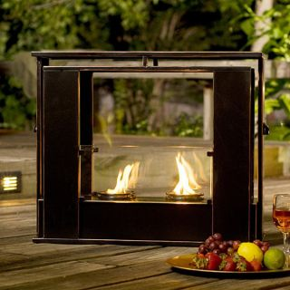 Indoor Outdoor Portable Fireplace Gel Fuel Packs Included