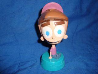 Fairly Odd Parents Bobble Head Plastic Toy 2007 Viacom