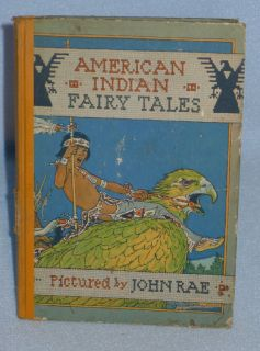 Childrens Book AMERICAN INDIAN FAIRY TALES, Old & Vintage, US Native