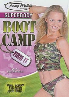 Tracey Mallett Fitness SUPERBODY Boot Camp Firm It DVD Toning Workout