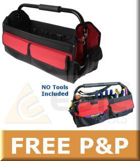 Faithfull 24/600mm Heavy Duty Open Tote Hand & Power Tool Bag/Case