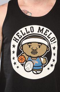 Rich Scampi The Hello Melo Tank in Black