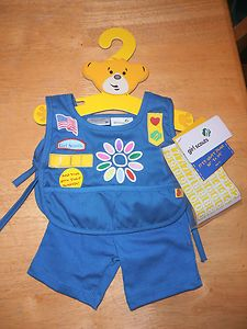 Build A Bear Girl Scout Daisy Uniform New