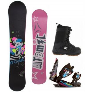 Atomic Fallen Angel 152 Womens Snowboard Rossignol Bindings DC Boots