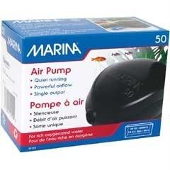 Marina 50 Air Pump Quiet Aquarium Fish Tank 15 Gallon