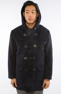 assembly the duffel coat in navy sale $ 180 95 $ 270 00 33 % off