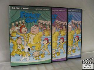 Family Guy Volume 3 DVD 2009 3 Disc Set 024543212959