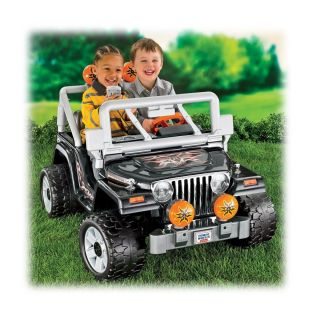 Brand New Fisher Price Power Wheels Jeep Wrangler 12 Volt POWERWHEELS