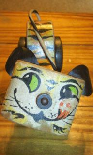 Vintage Fisher Price Tawny Tiger Pull Toy
