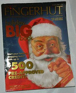 FINGERHUT Holiday 2011 Christmas Catalog Holiday Big Book NEW