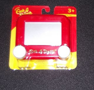 Ohio Art Pocket Etch A Sketch Drawing Toy New Classic Red