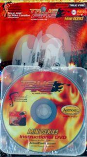 True Fire Mini Series Airbrush Paint Stencil Set w DVD