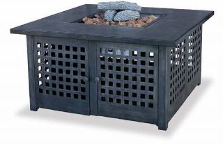 Uniflame GAD920SP Blue Rhino LP Propane Table Top Fire Pit