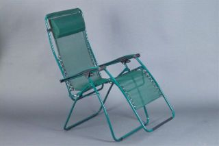 Faulkner Zero Gravity Patio & Camp Chair   Green Mesh   Big & Tall