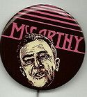 1968 Eugene McCarthy for President Bumper Stickers