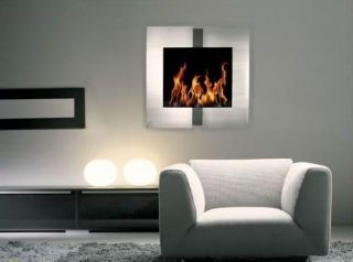 Jazz 2 Ethanol Fuel Fireplace Wall Mounted No Electric