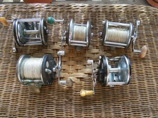 VINTAGE PENN SALTWATER FISHING REELS  SENATOR LONG BEACH OCEAN CITY