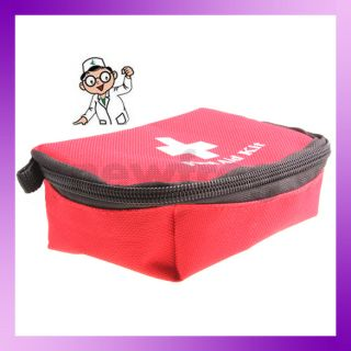 First Aid Kit Necessity Red Emergency Tools Family Medical Kit