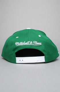 Mitchell & Ness e New York Jets Script 2Tone Snapback Cap in White
