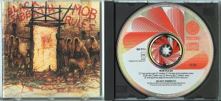 BLACK SABBATH Mob Rules 1981 WEST GERMANY CD rare oop VERTIGO 1pr no