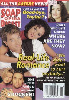Digest March 12 1996 John Callahan Eva LaRue Robin Strasser