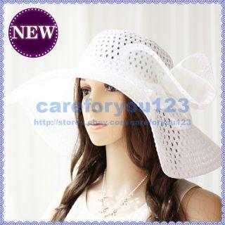 Many Colors Lovely Fashion Women Wide Brim Floppy Fold Beach Sun Hat