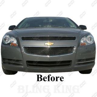 2011 2012 Chevy Malibu Grille Grill Insert Chrome Mesh Bentley 08 09