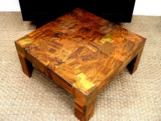 Coffee Table Paul Evans Copper Brass Mid Century Modern Hollywood