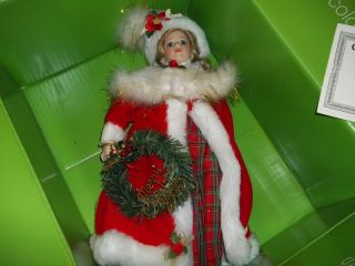 Genuine Porcelain Doll Dynasty Collection Limited Edition Christmas