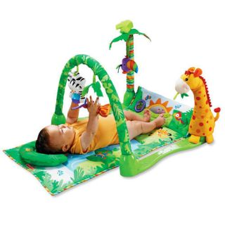 Fisher Price Rainforest Musical Gym Play Gyms New L1664 New in Box