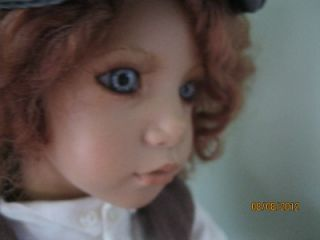 Annette Himstedt Doll CHARLY a 5yr Old Boy from Chicago 1996