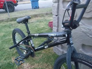 "Felt Bikes Freestyle BMX Bike 20"" Wheels"