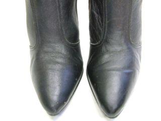 Womens Black OTK Over Knee Thigh High Heel Fashion Boots Sz 6 D 6d