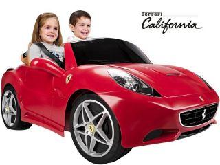 12v Feber Ferrari California Car Electric Automobile Child Kid Ride 4
