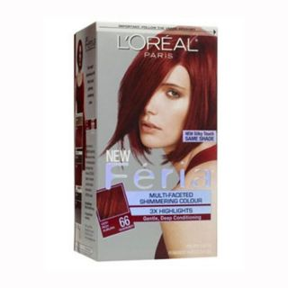 Loreal Feria 66 Ruby Fusion Permanent Hair color