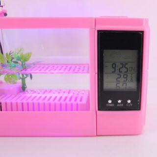 USB Desktop Dreaming Crystal Palace Fish Tank Set Up C08