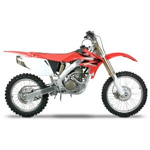 Honda CRF250R Two Brothers M7 Carbon Fiber Full Exhaust System