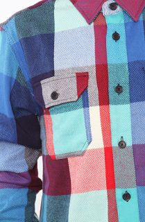 Supremebeing The Fold Buttondown Shirt in Block Check