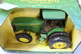 Farm Tractor John Deere 8410 Ertl Front Wheel Assist Diecast No Box 1