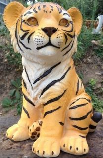 Tiger Cub Latex and Fiberglass Mold Concrete Mold cement plaster