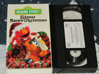 Sesame Street Elmo Saves Christmas New DVD
