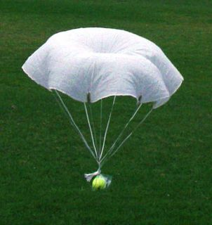 Military 36 Flare Parachute New Original USA 4 Rocket Toy or RC Para