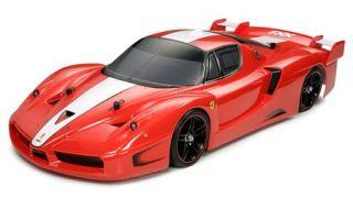 10 RC Radio Control Car Ferrari FXX Assembly Kit TA05 Chassis Rare