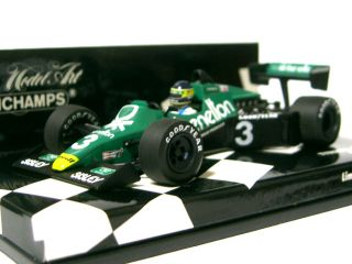Minichamps has released a 143 diecast model of the #3 Tyrrell Ford