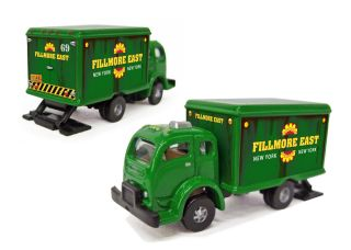 Mini White@ COE Fillmore East Van   Custom N Scale Classic Metal Works