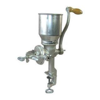 Tall Cast Iron Corn Nuts Grain Mill Grinder Heavy Duty Hand Crank