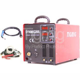 Saldatrice Inverter A Filo Continuo Synmig 205 MIG MMA 200 Amper IGBT