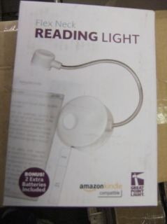 Great Point Light Flex Neck Soft Touch Reading Light White