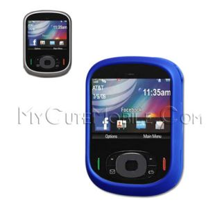Motorola QA1 Karma Case Blue Rubberized Faceplate Clip
