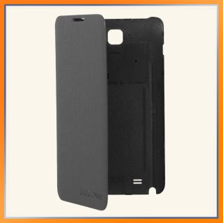 New Samsung Galaxy Note Protective Flip Cover Case Navy Blue Original